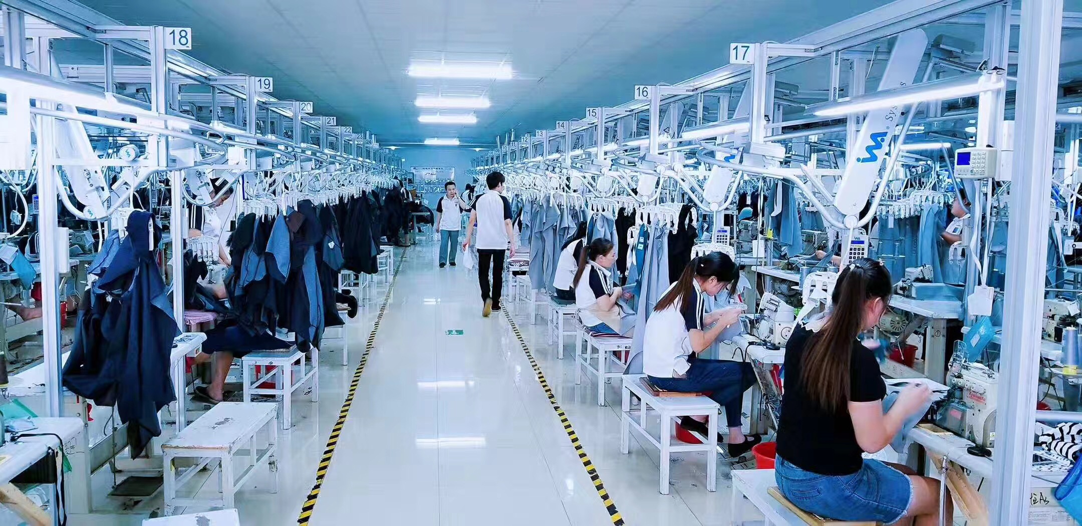 How to find an efficient and right garment/clothing factory & manufacturer  in China?